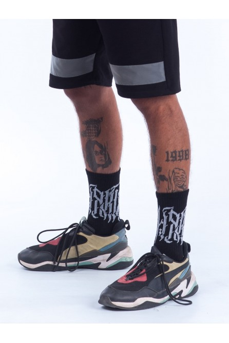 Носки LUD – Tattoo Black