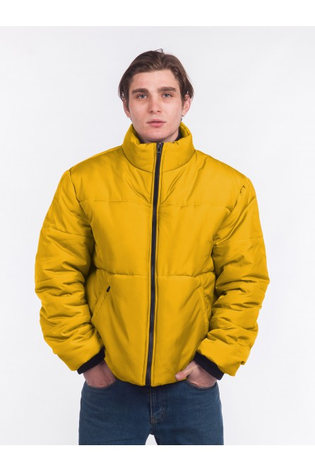 """Куртка Зима """"21"""" – Mustard"""